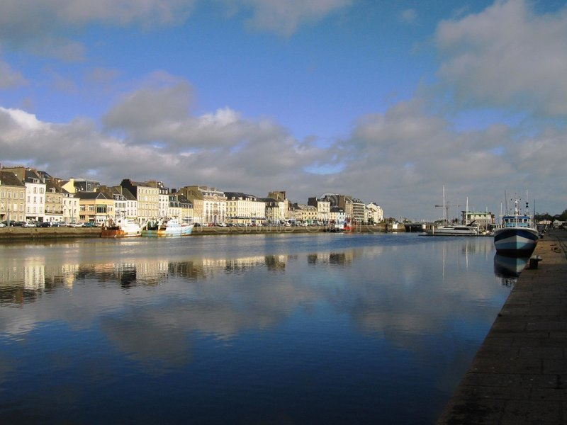 Cherbourg 1 royalty free stock photography