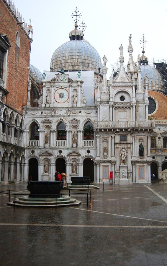Cherch in Venetië stock afbeeldingen