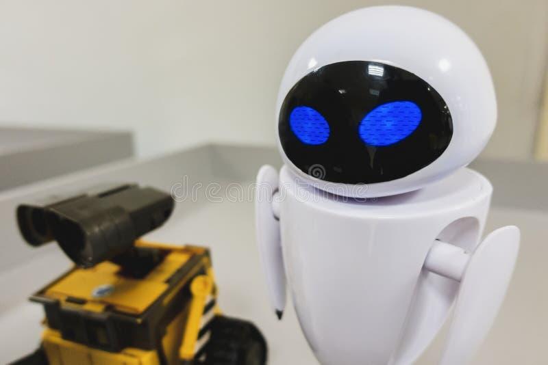 Cherkasy, Ucraina - 08 gennaio 2019:Managed Robot EVE fotografia stock libera da diritti