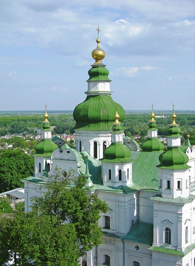 chernigov τριάδα Ουκρανία μοναστ&e στοκ φωτογραφία με δικαίωμα ελεύθερης χρήσης