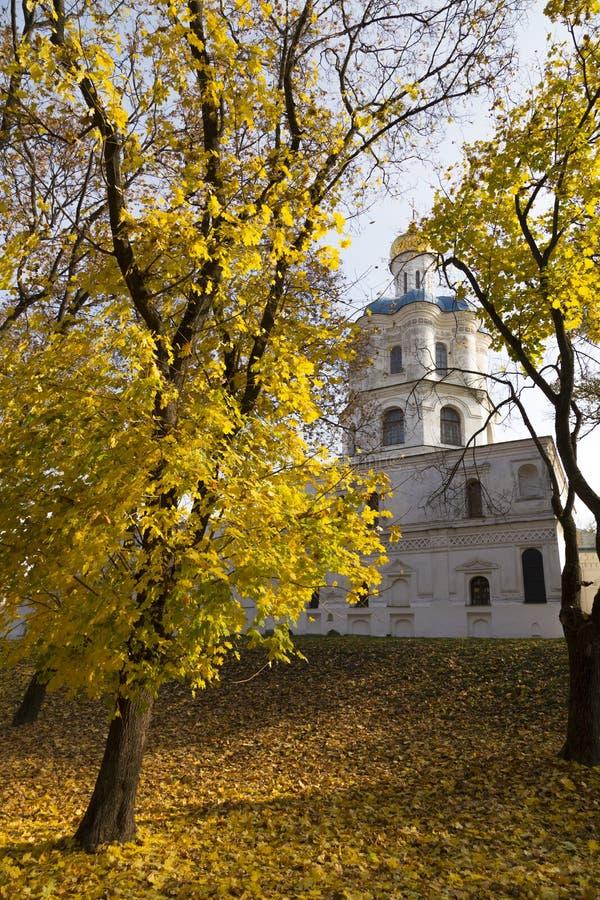 Chernihiv Collegium in  historical center of Chernihiv city. Ukraine stock photo