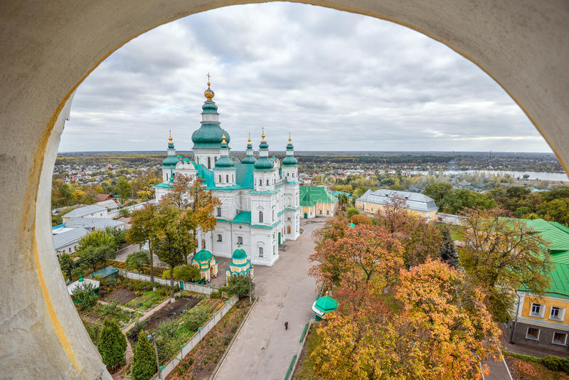 Chernihiv es una de las ciudades más viejas de Kievan Rus imagen de archivo libre de regalías
