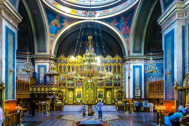 Chernivtsi Świętego ducha katedra 03 zdjęcia royalty free