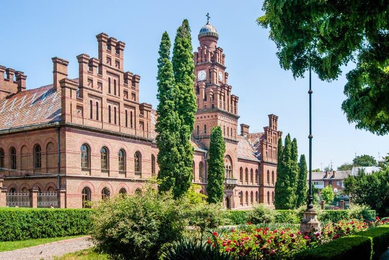 Chernivtsi Украина Университет Chernivtsi национальный названный после y стоковые изображения