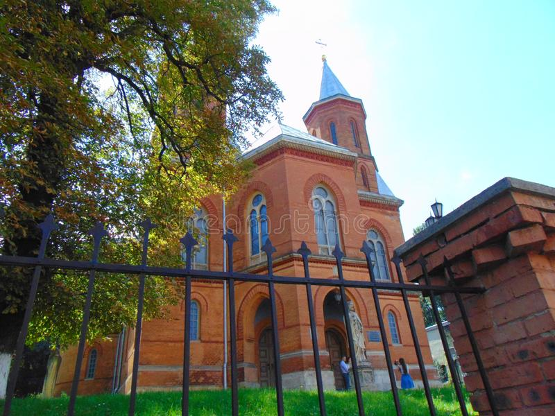 Chernivtsi. Armenian church in Chernivtsi stock photography