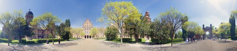 Chernivtsi Staatsangehöriguniversität stockbild