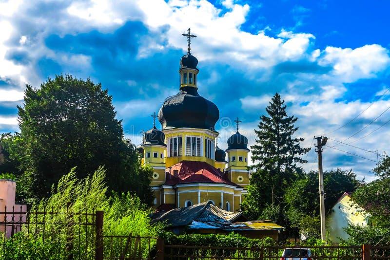 Chernivtsi Theotokos Dormition imagen de archivo libre de regalías