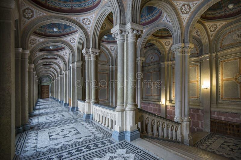Chernivtsi uniwersytet inside fotografia royalty free