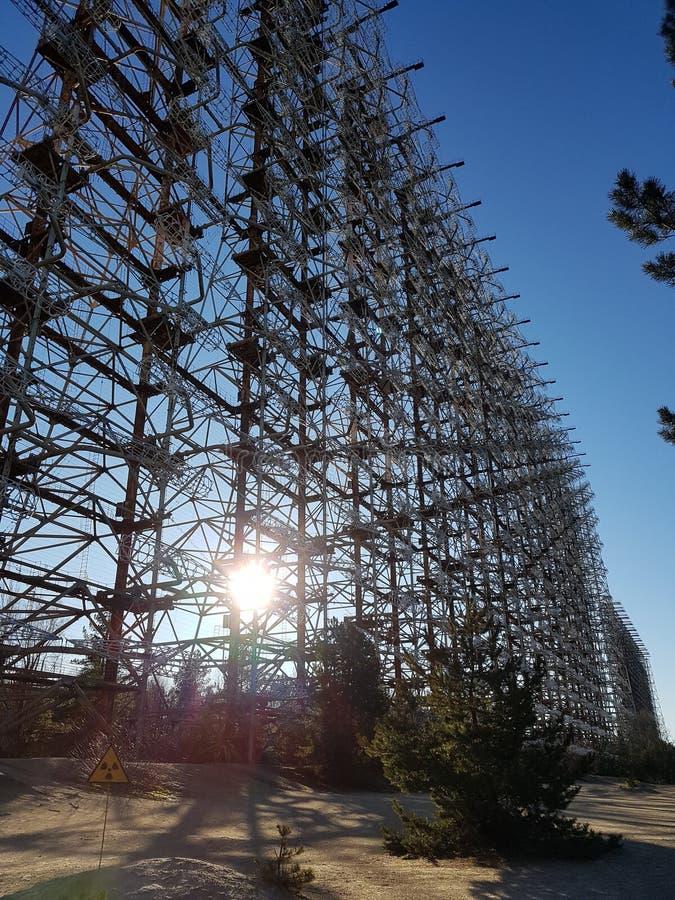 chernobyl royaltyfri fotografi