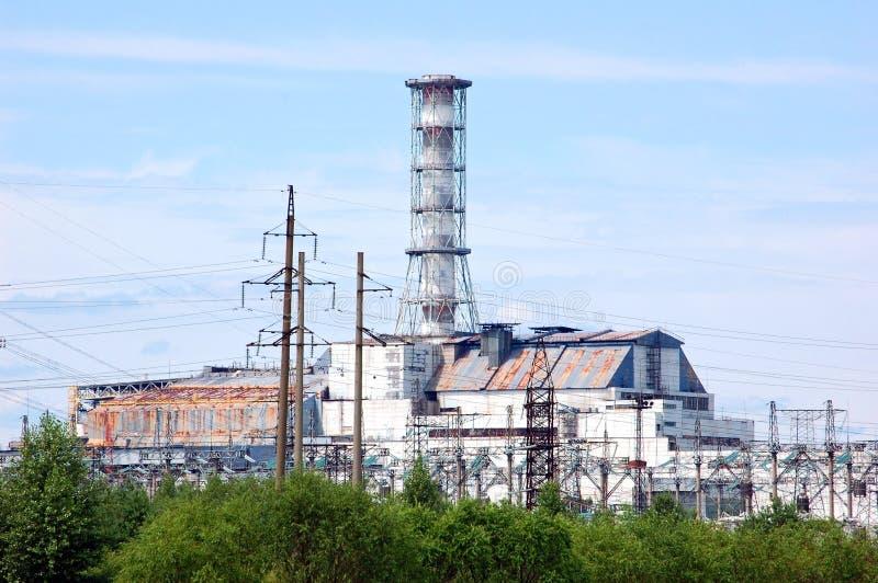 Chernobyl-Kernkraftwerk lizenzfreie stockfotos