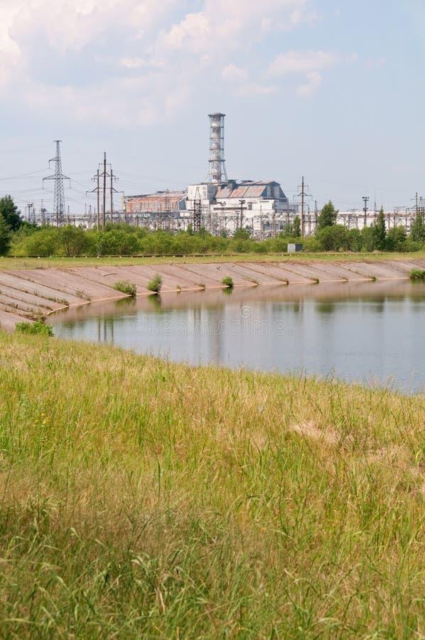Chernobyl-Kernkraftwerk lizenzfreie stockbilder