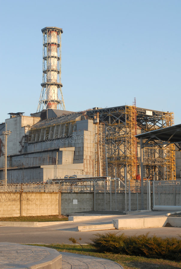 Free Chernobyl Nuclear Power Plant Royalty Free Stock Photo - 8012465