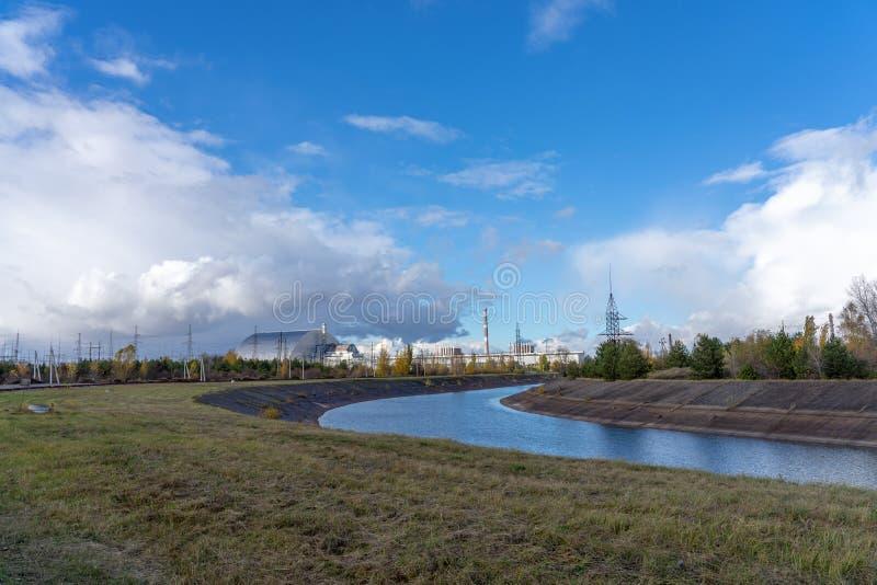 Chernobyl reactor 4 stock photos