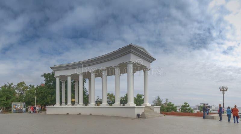 Chernomorsk sity blisko Odessa, Ukraina fotografia stock