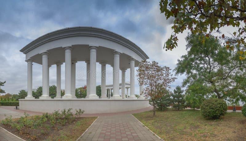 Chernomorsk sity blisko Odessa, Ukraina obrazy stock