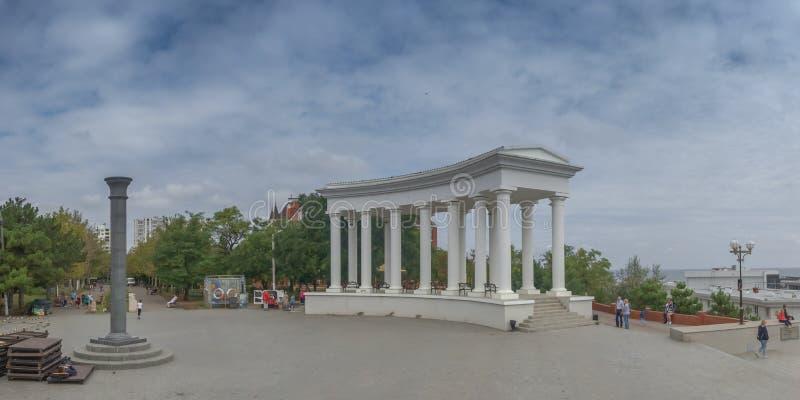 Chernomorsk sity blisko Odessa, Ukraina zdjęcie stock