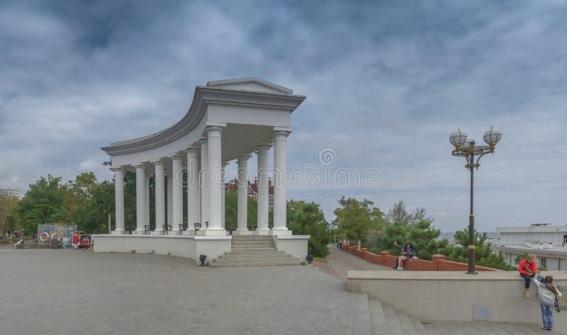 Chernomorsk sity blisko Odessa, Ukraina zdjęcia stock