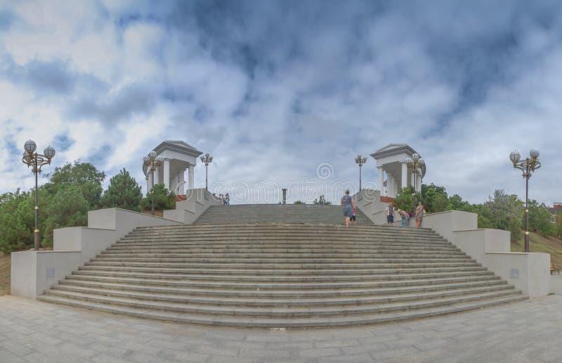 Chernomorsk sity blisko Odessa, Ukraina zdjęcie royalty free