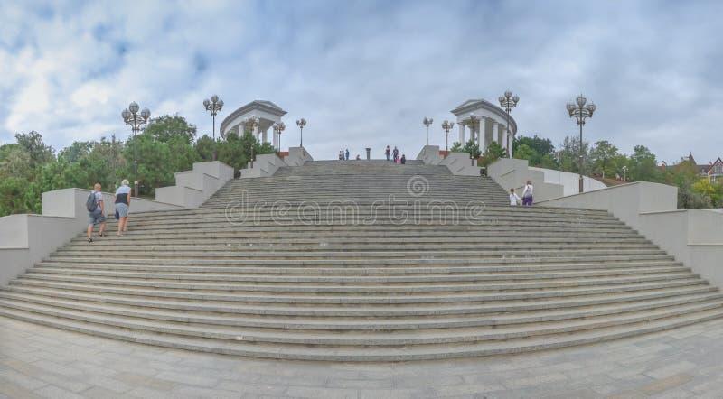 Chernomorsk-sity nahe Odessa, Ukraine stockfotografie