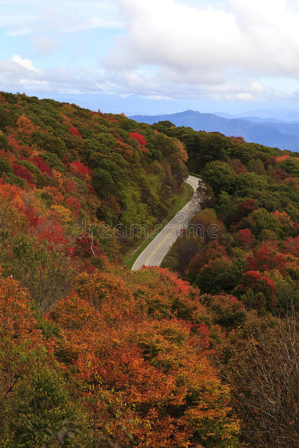 Cherohala Skyway royalty free stock photography