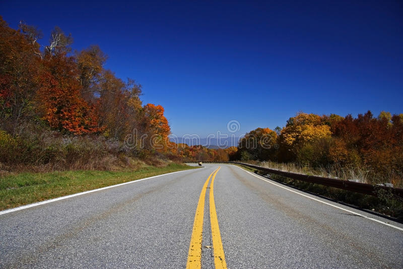Cherohala Skyway, Tennessee lizenzfreie stockfotos