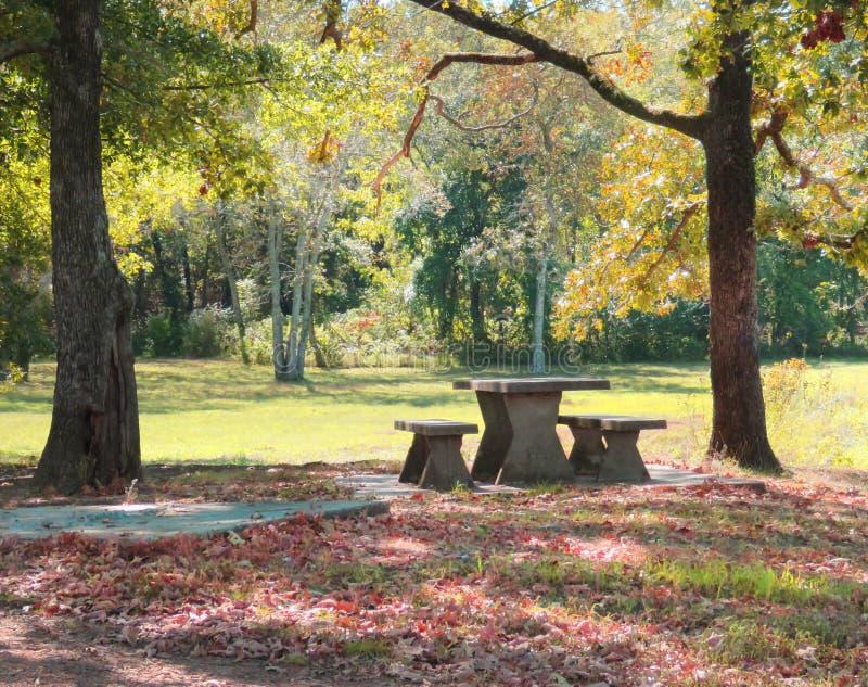Cherokee национальный парк штата заводи Sallisaw, Sallisaw, О'КЕЙ стоковые фотографии rf