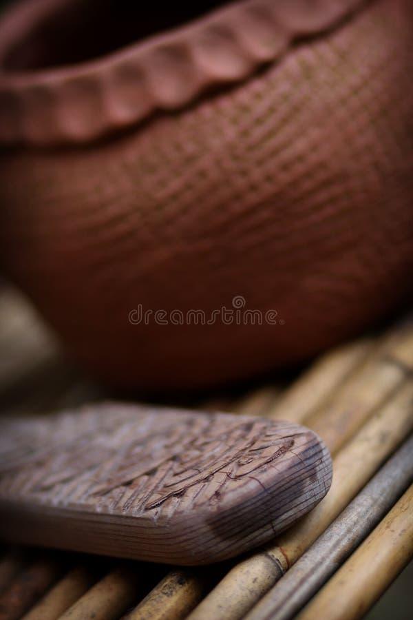 Cherokee aardewerkhulpmiddel royalty-vrije stock afbeeldingen