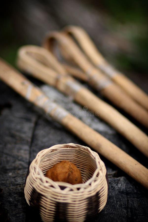 cherokee stickball fotografering för bildbyråer