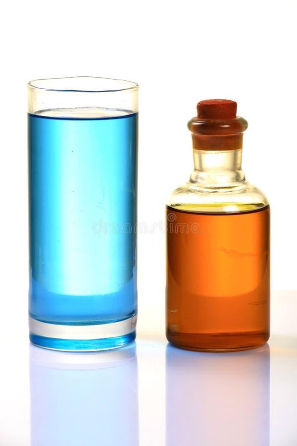 Cherosene e diesel fotografie stock