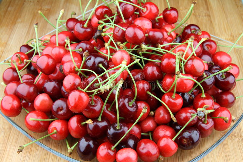 Download Cherries stock image. Image of nature, background, delicious - 14858943