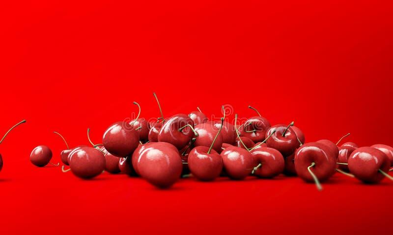 Download Cherries stock illustration. Image of healthy, studio - 28399738