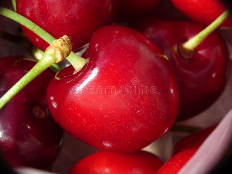 Download Cherries closeup stock image. Image of delicious, perfect - 14688299