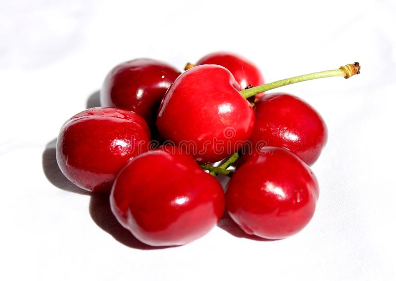 Download Cherries, Fresh And Delicious Composition Stock Photo - Image: 14379566