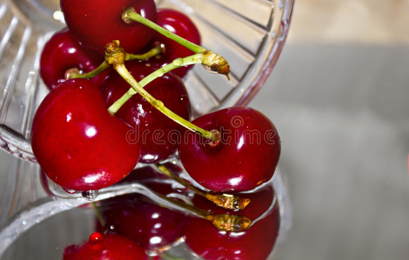 Download Cherries in glass stock photo. Image of environment, background - 20379968