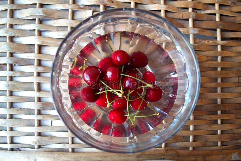 Cherries stock images