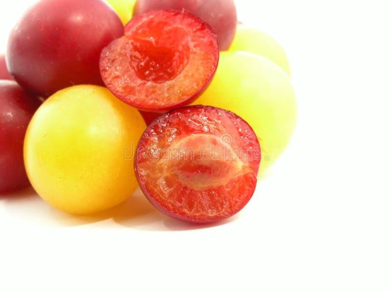 cherry śliwki fotografia stock