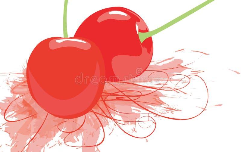Cherry stock illustration