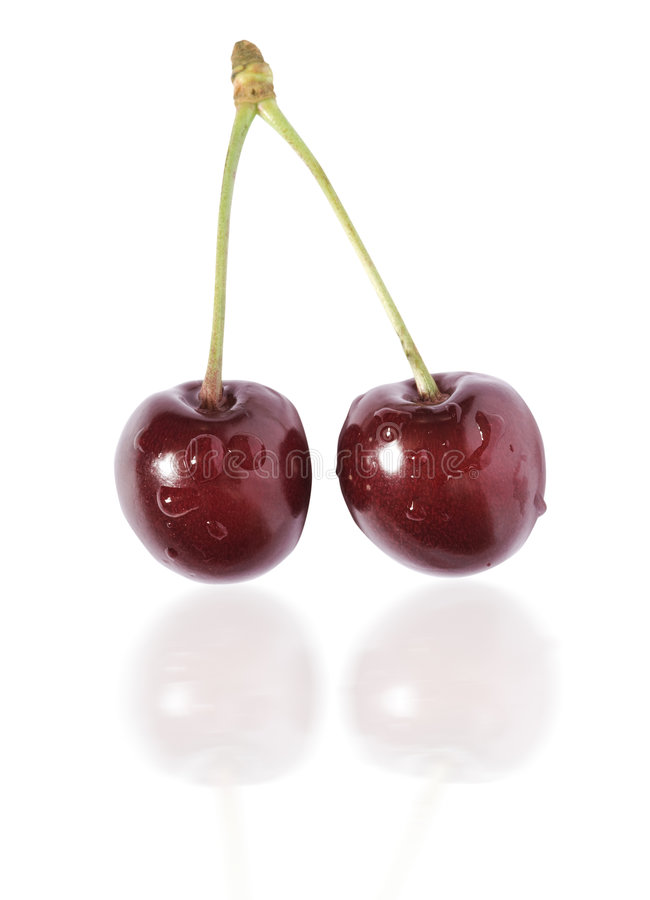 Free Cherry Royalty Free Stock Image - 5420016