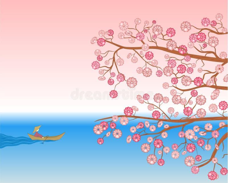 Cherry stock illustrationer