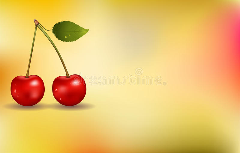Download Cherry background stock vector. Illustration of cherry - 19488848