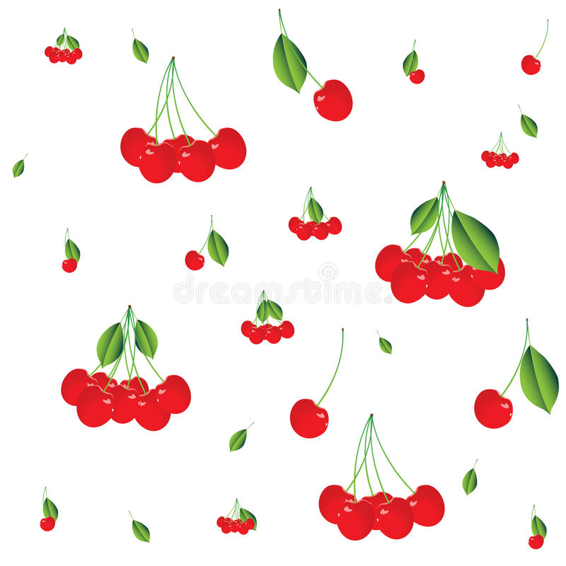 Cherry Background Royalty Free Stock Images