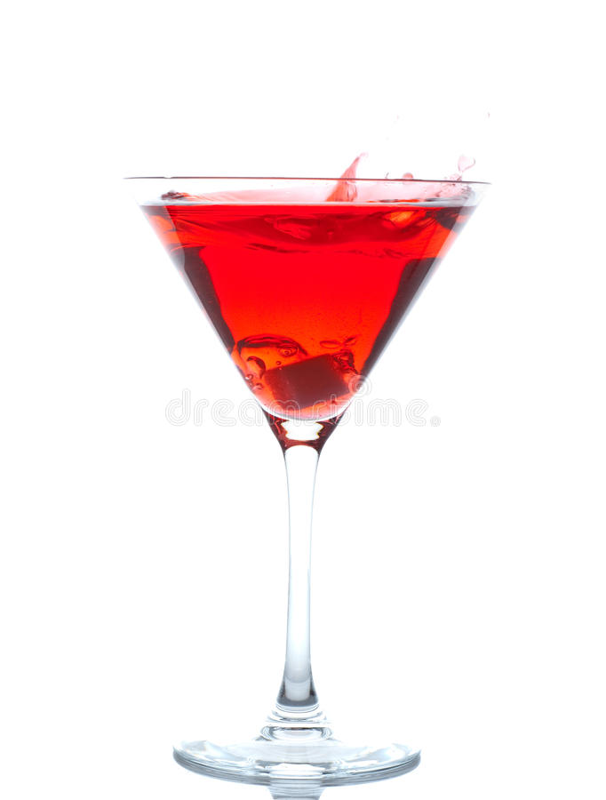 Cherry Blossom Cocktail stock images