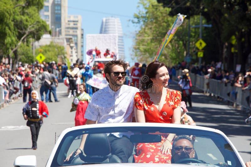 Cherry Blossom Grand Parade San Francisco 2019 royalty free stock photos