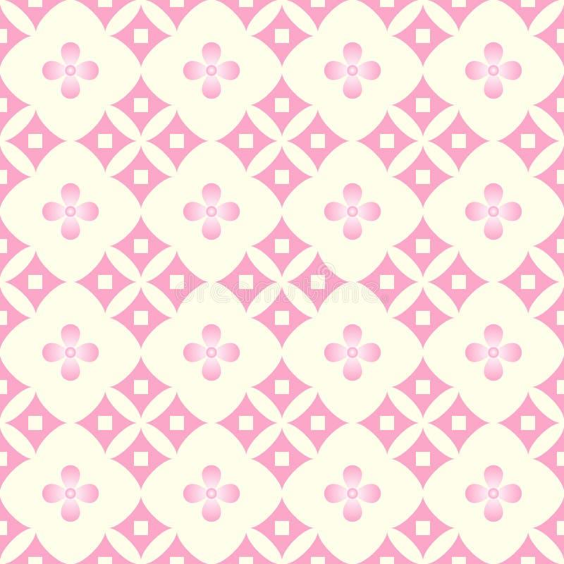 Cherry Blossom Pattern Vector vektor illustrationer
