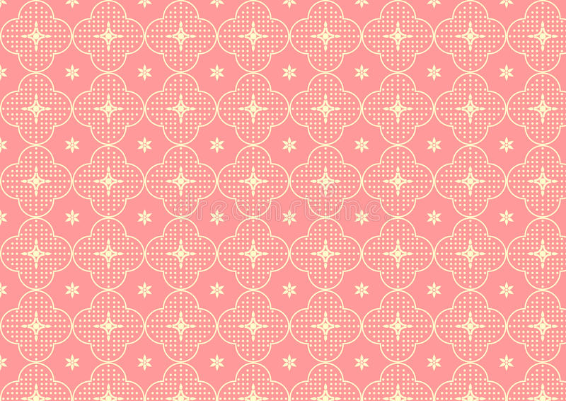 Download Cherry Blossoms Or Sakura Pattern On Pastel Color Stock Vector - Image: 37637140