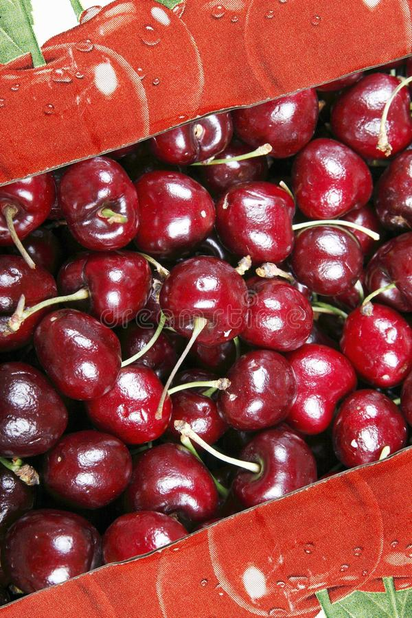 Cherry In The Box Royalty Free Stock Image