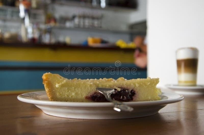 Cherry Cheese Cake fotografia stock libera da diritti