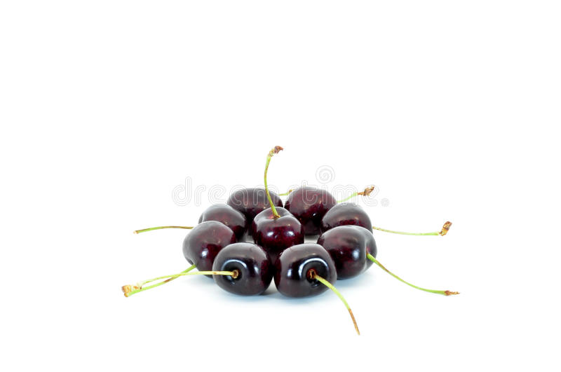 Download Cherry circle stock photo. Image of food, group, diet - 15883464