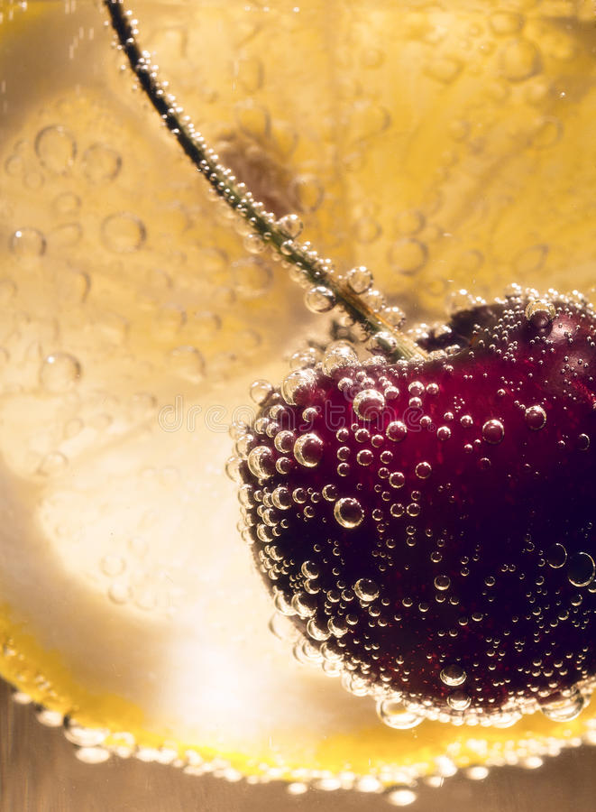 Download Cherry Cocktail stock photo. Image of ripple, splash - 20059048
