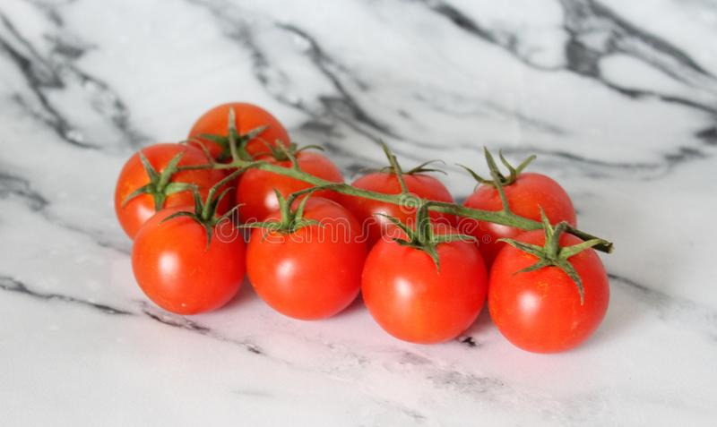Cherry Cocktail Tomatoes imagens de stock